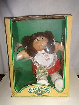 Cabbage Patch in BOX Georgena Dee Adoptable ONE OF A KIND 1983 ON TAG BIRTH CERT