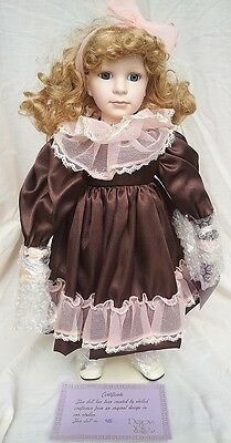 Designs by Yoko -- Beautiful - retired -- Bisque Porcelain Doll