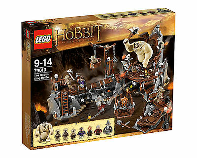 Lego The Hobbit 79010 ReTiReD The Goblin King Battle  FREE SHIPPING 9-14 Dori