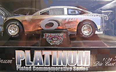 RACING CHAMPIONS REFLECTIONS IN PLATINUM 1998 NASCAR #6 MARK MARTIN  VALVOLINE