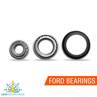 Marine Waterproof Steel Boat Trailer Ford Type Replacement Slimline Bearings
