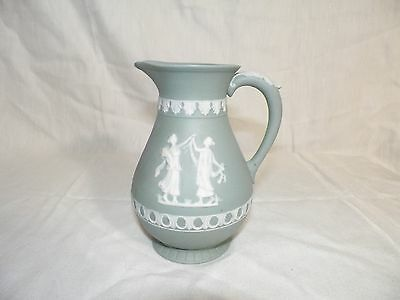 Small Pitcher Jasperware Wedgwood Style Greek - Made in Japan