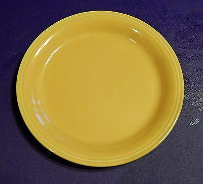 "Vintage Fiesta Ware (?) 6½"" Plate Yellow FREE SHIPPING w/in the U.S.!"