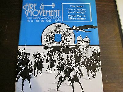 "Fire & Movement #35  Jun/July 1983 Issue ""The Cossacks Are Coming !"" GAM205"