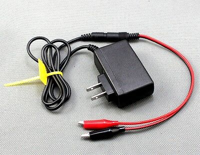 New 12V 1A AC DC Power Supply Adapter With Alligator  Clip for Amstron AP-1270F1