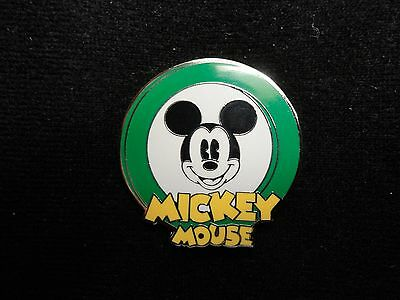 Oh Mickey! Mystery Pouch Dark Green Only Disney Pin Pie Eyed Mickey Mouse