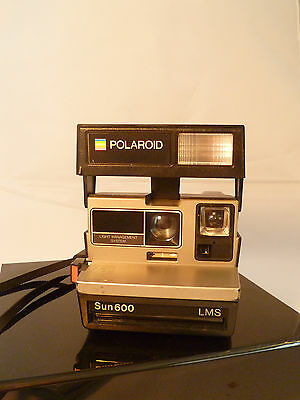 Polaroid One Step Sun 600 LMS Camera Instant Point and Shoot Film Land Camera