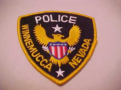 Winnemucca Nevada Police Patch