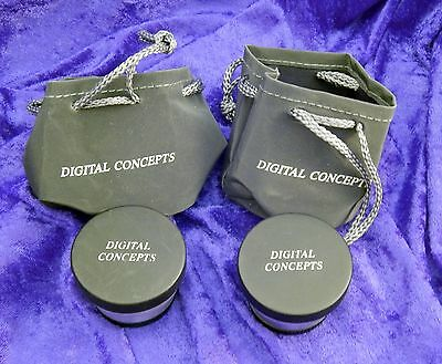 Pair of Digital Concepts Lenses High Definition 2.0x Telephoto & 0.5x Wide Angle