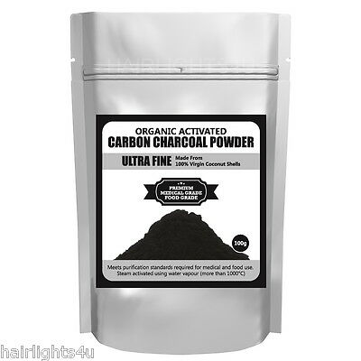 Ultra Fine Organic Activated Carbon Powder Charcoal Pure Organic Coconut Shell