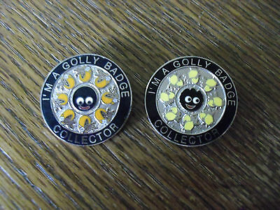 Robertsons Golly Badge Collectors Badges x 2 ~Limited Edition~