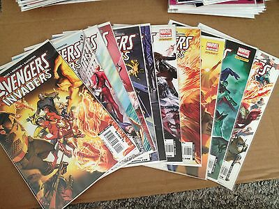 Avengers/Invaders 1 2 3 4 5 6 7 8 10 11 12 F/VF/NM+ Missing One Issue
