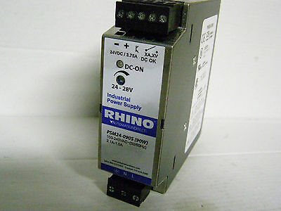 PSM24-090S Rhino Industrial Power Supply PSM Series