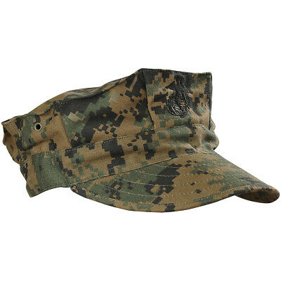 Helikon Military USMC Patrol Hat Tactical Army Field Cap Digital Woodland Camo