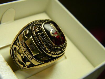 University of Southern California College Class Ring BS Physics 10K