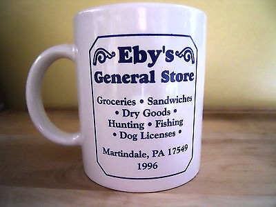 Eby's General Store Advertising Mug