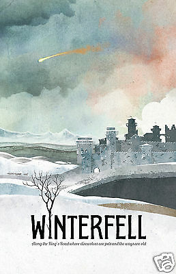 Game of Thrones Poster Winterfell