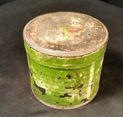 Texaco Motor Cup  Grease Can- Full