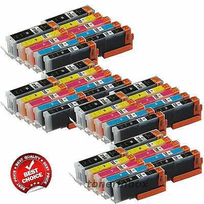 40 New Ink Set For Canon PGI250XL CLI251X Pixma MG5420 MG5520 MG6320 MX722 MX922