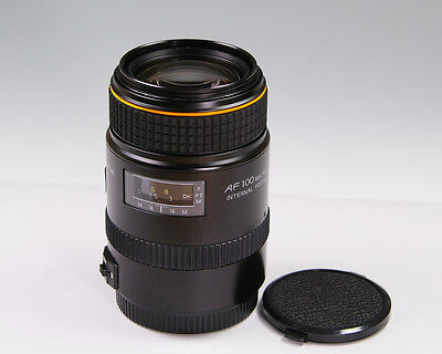 TOKINA AT-X 100mm F2.8 Macro for Canon EF Excellent+ w/sample images