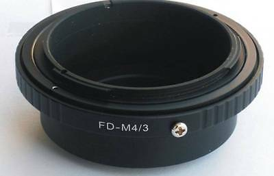 Canon FD Lens to Micro 4/3 M43 M4/3 Mount Adapter G5 GH3 GX1 E-P5 OM-D FD-M43