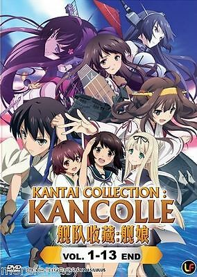 DVD Kantai Collection : Kancolle Vol. 1 - 13 End + Free Postage