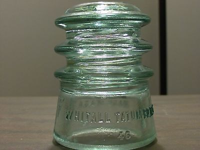 Antique Glass Railroad Telegraph Insulator