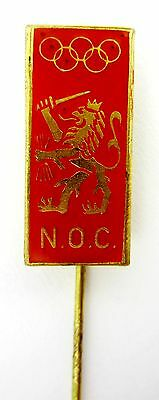 RARE OLYMPIC PIN NETHERLANDS NOC OLYMPIC COMMITTEE MONTREAL OLYMPICS 1976