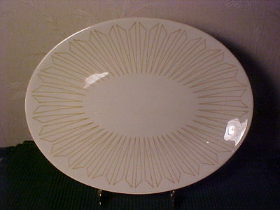 """VTG Collectible Royal China Inc.""""Solar""""pattern/Large 13"""" Platter-ex.cond"""