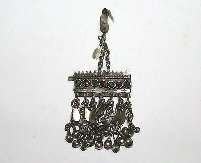 Vintage Antique Ethnic Tribal Traditional Afghan Kuchi Forehead Tika Hairclip