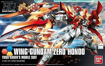 BANDAI HGBF 033 [WING GUNDAM ZERO HONOO] Model Kit 1/144