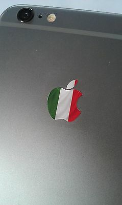 Italy / Italian Flag Logo Decal Sticker for iPhone 4/4S/5/5S/6/6S/7 Plus