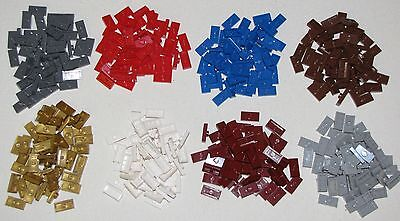 Lego Lots of 50 Modified 1 x 2 Plate w/ 1 Stud and Groove Jumper Parts You Pick