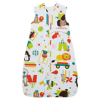 NEW Grobag Baby Sleeping Bag 0 - 6 months  2.5 tog - Carnival - ** TRAVEL  **