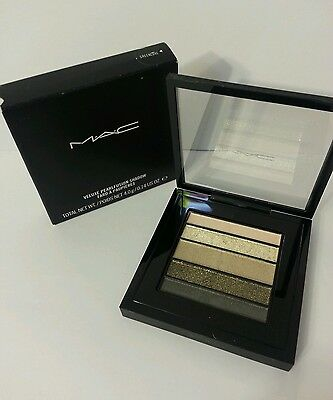 MAC Veluxe Pearlfusion Eye Shadow Palette greenluxe Authentic NIB