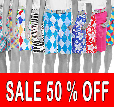 *SALE* Royal and Awesome Ladies Golf Shorts Gift Idea Womens Golf Holiday Shorts