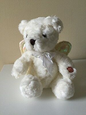 "AVON Singing/Talking/Animated ANGEL BEAR 9"" Prayer Plush ""Jesus Loves Me"""