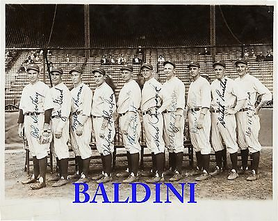 New York Yankees  1927 Pitching Staff Signed 10X8 Photo - Great Collectable