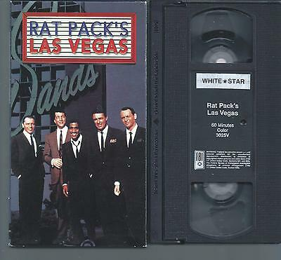 Rat Pack's Las Vegas - 60 Min. video - Frank Sinatra, Dean Martin, etc.