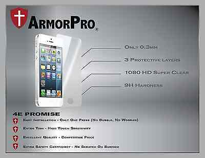 Premium Real Tempered Glass Film Screen Protector for Apple iPhone