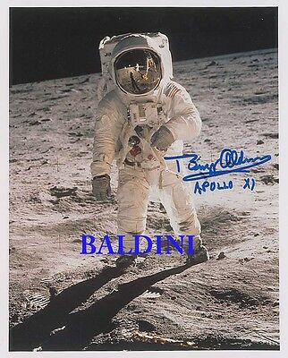 Buzz Aldrin Signed 10X8 Photo,  Great Space Still Image, Looks Great Framed