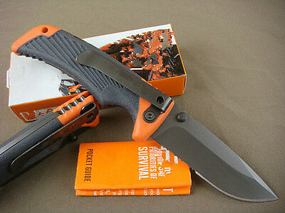 NEW Folding Clip Pocket Survival Fishing Hunting Camping knife Rescue Saber g126