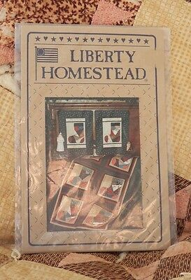 Liberty Homestead Patched Stockings Wall hanging Quilting Pattern