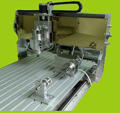 """50""""X24""""  1250mmX600mm  4-axis cnc router Engraving milling machine"""