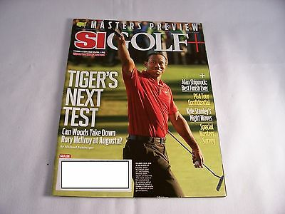 SPORTS ILLUSTRATED SI GOLF+ APRIL 2 2012 TIGER'S NEXT TEST MASTERS PREVIEW