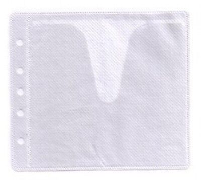 2000 CD Double-sided Refill Plastic Sleeve White