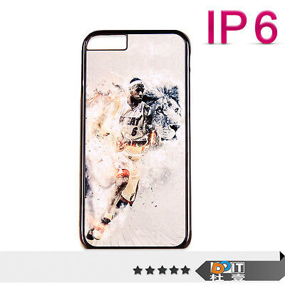 For Apple iPhone 6 NBA Picture Hard Back Skin Phone Case Cover