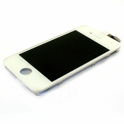 Replacement Front LCD Display Screen Touch Digitizer Assembly for iPhone 4 4G WH