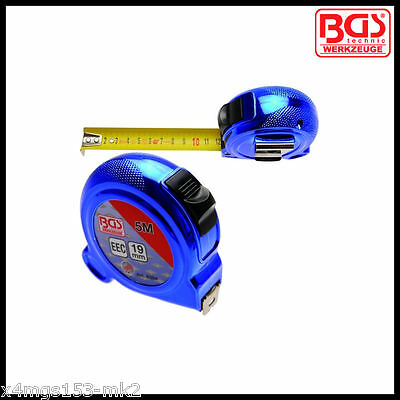 BGS - Retractable Tape Measure 5 M x 19 mm - Metric Only - Pro Range - 8394