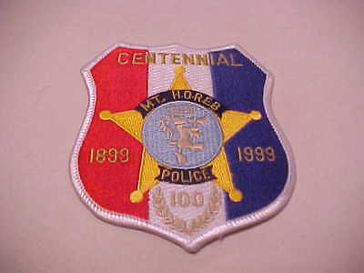 MT. HOREB  WISCONSIN  POLICE PATCH *** FREE SHIP IN USA ***